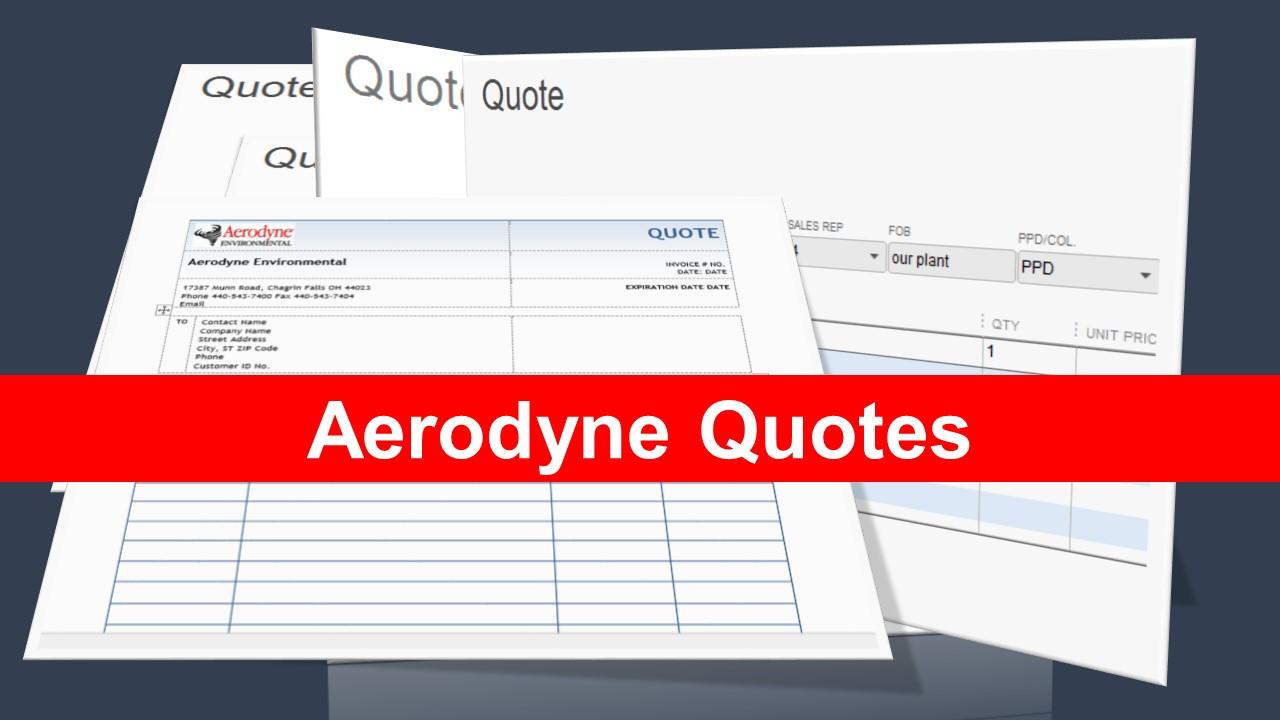 Aerodyne Quotes